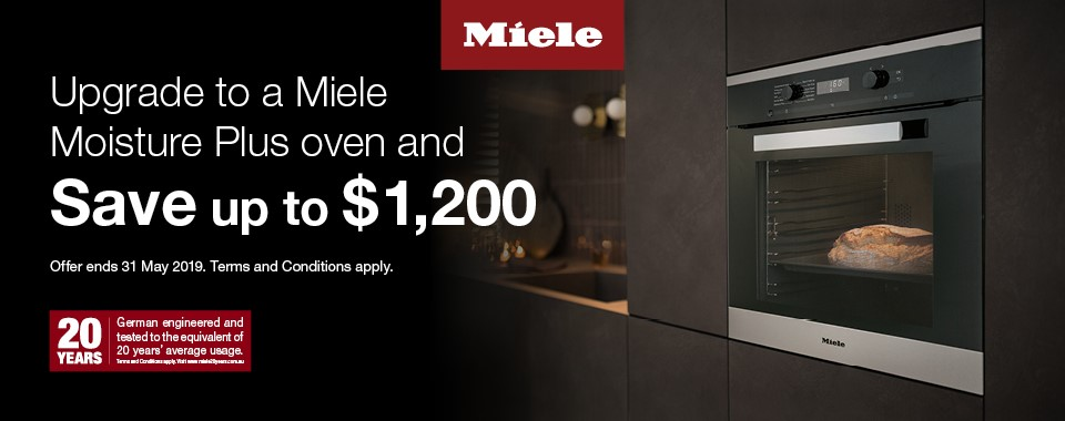 Save Up To $1200 on Miele Ovens