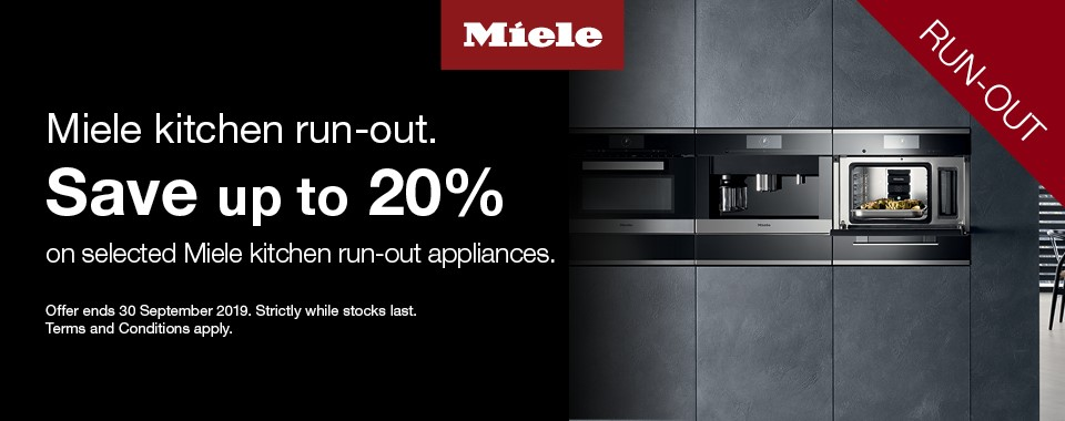 Rawsons Appliances Bathrooms - Miele Cooking Run-Out August Promotion#CarouselBanner