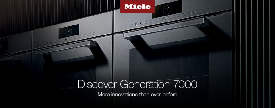 Rawsons Appliances Bathrooms - Miele Discover Generation 7000 Cooking Appliances#CarouselBanner