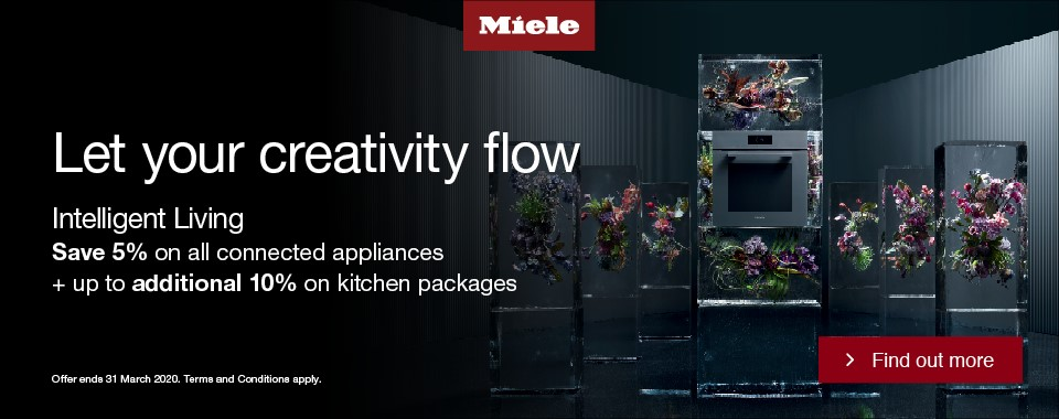 Rawsons Appliances Bathrooms - Miele Save 5% On Connected Appliances + Up To 10% On Appliance Packages