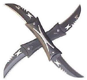 Double Impact Black 4 blades VL04B