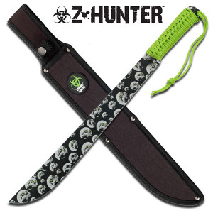 18 in Full Tang ZOMBIE HUNTER Machete ZB006