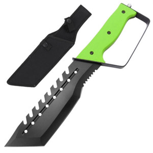 Full Tang Raving Lunatic Handguard Knife HK1775GN