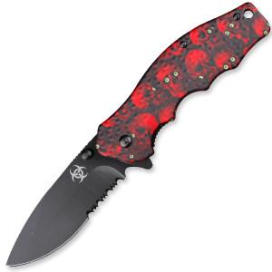 AO rED ZOMBIE KILLER Knife KS1331RD