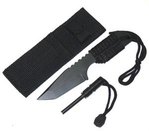 Full Tang Survival Knife & Fire Starter 210832