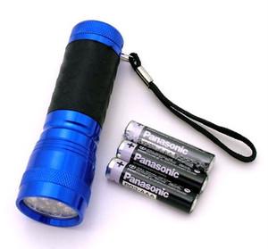 CLOSEOUT SALE 14 Bulb Led Flashlight FL30714BL