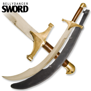 34 in Scimitar Belly Dancers Sword SW665