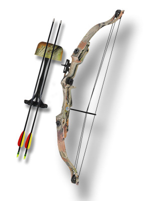 20 Pound Compound CAMO Training Bow MKCB006AC