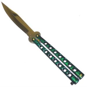 Butterfly Knife Green 131GR