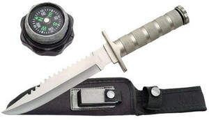 SALE 12in Military Survival Knife 210681SL