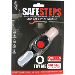 LED Light Arm Band Red AB-RED