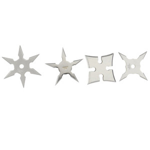 Mini Professional Edged Steel Edged Throwing Stars JL-4S