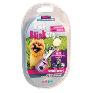 Pink & Jade Pet Blinker Pet Safety Light PETBLIN-PJ