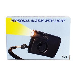 Safety Technology PAL-130L Keychain Alarm with Light by Safety Tech