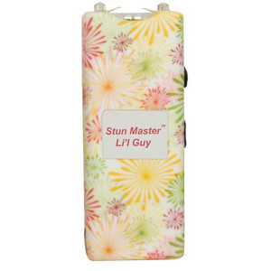 Stun Master Lil Guy 12,000,000 volts Flower Stun Gun W/flashlight and Nylon Holster SM-LILGUY-FW