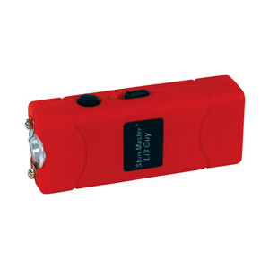 Stun Master Lil Guy 12,000,000 volts Stun Gun W/flashlight and Nylon Holster Red SM-LILGUY-RED