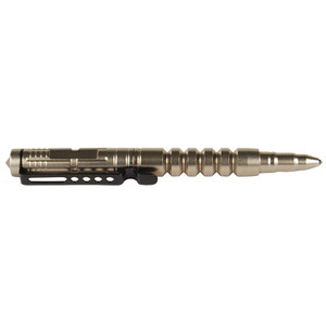 Tactical Silver Pull Cap, Glass Breaker Tip Pen with Refill TACPEN3-S