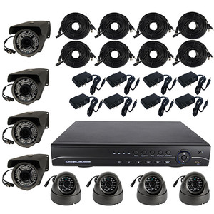 High Definition 8 Channel Surveillance System with 4TB Hard Drive CS-84TB-AHD