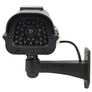Solar Powered Dummy Camera Black DM-SOLAR-BLK