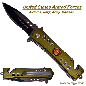 AO Armed Forces Rescue Knife K110