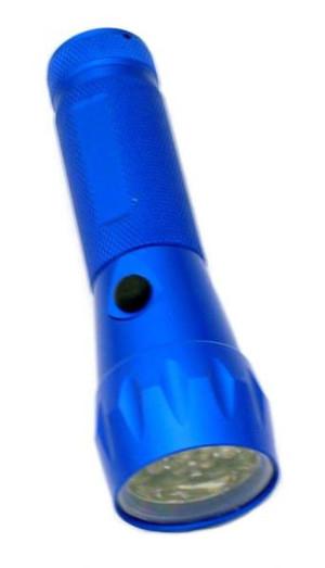 CLOSEOUT SALE 19 Led Bulb All Metal Flashlight HF703F-19L