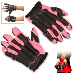 SALE Closeout Real Leather PINK Sap Gloves SGN203PKM