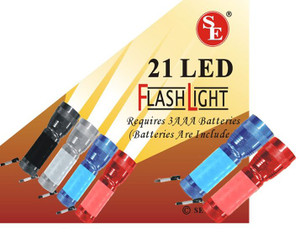 12- 21 Bulb Led Flashlight FL30721
