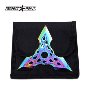 3 Point Rainbow Throwing Star 90-36RB
