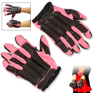 SALE Real Leather PINK Sap Gloves SGNPKL