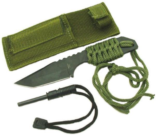 SALE Full Tang Survival Knife & Fire Starter HK6320