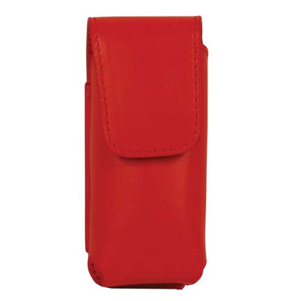 Red Leatherette Holster for RUNT Stun Gun LH-RUNT-RED
