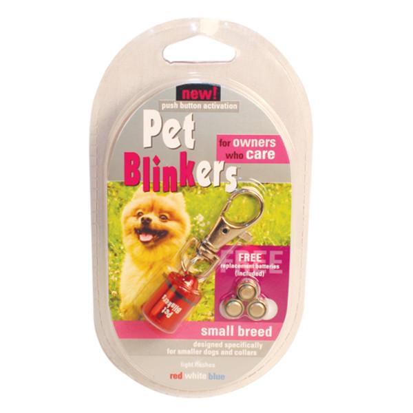 Red, White & Blue Pet Blinker Pet Safety Light PETBLIN-RWB