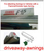 Outdoor Revolution Ex. Large Driveaway Kit - 3m 6mm/6mm