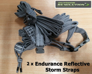 Outdoor Revolution Endurance Storm Straps - 2 per pack