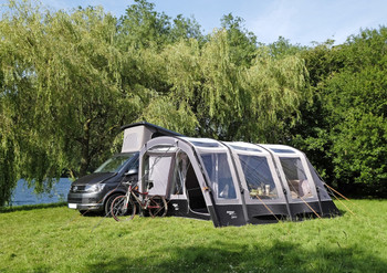 Manufacturers image shows Galli Low Galli Tall for vehicles with a fixing height of 245 to 295cm.  Taller Van Based Conversions, Coach-Built Motorhomes