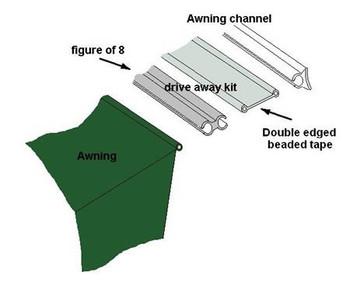 Westfield 6mm/6mm 3m Driveaway Kit Driveaway Kit