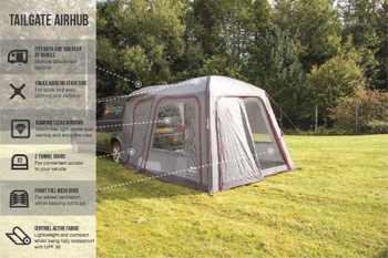 Vango Tailgate Airhub Low - NEW for 2021