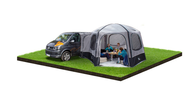 Manufacturers images show Hexaway Low. Tall version is suited to Taller Van Based conversions or Coach-Built motorhomes with a fixing height of 245 to 295cm