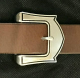 Tulip Stainless Steel Tongue Buckle-1.5""