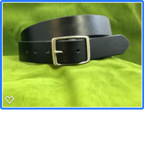 "1.5"" Black Dress Belt"