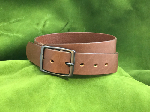 "1.5"" Brown Dress Belt"