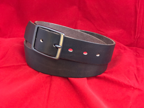 "1.5"" Milled Chocolate Belt"
