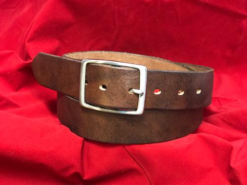 "1.5"" Bomber Brown Belt"
