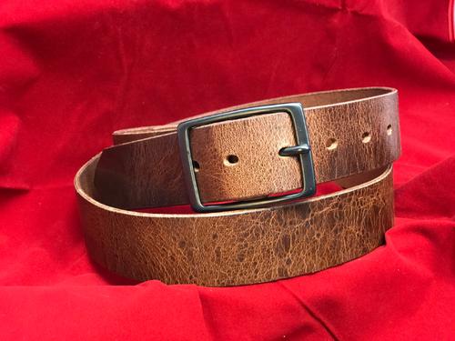 "1.5"" Antique Brown Belt"