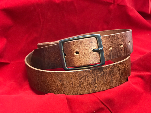 "1.5"" Antique Brown Belt"