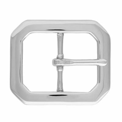 """Clipped Corner Polished Nickel-1.5"""""""