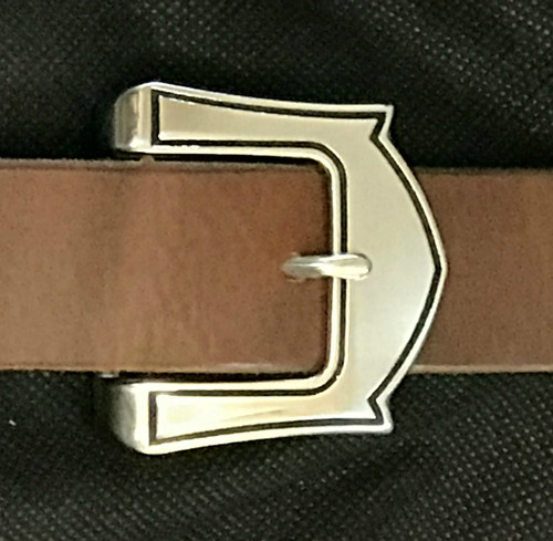 """Tulip Stainless Steel Tongue Buckle-1.5"""""""