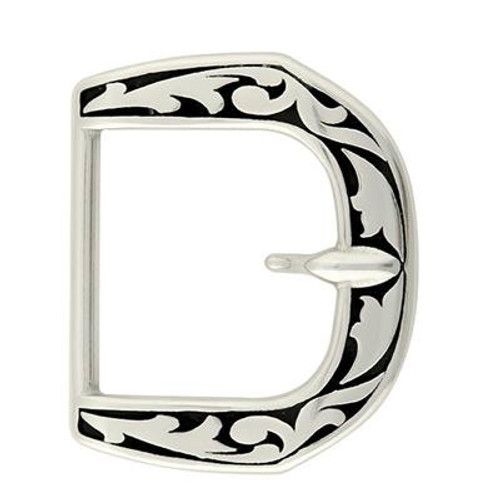 Paul Stainless Steel Stationary Tongue Buckle-1.5""