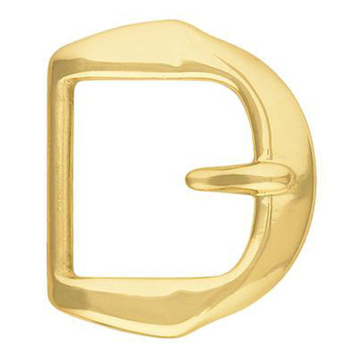 Paul Solid Brass Stationary Tongue Buckle-1.5""