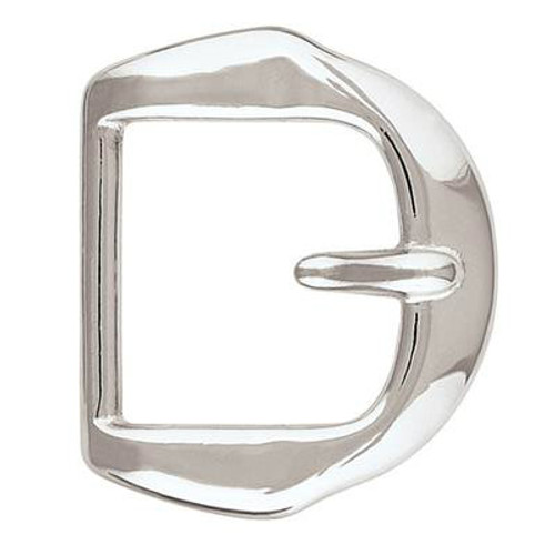Paul Chrome over Brass Stationary Tongue Buckle-1.5""
